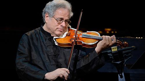 75 éves Jichák Perlman